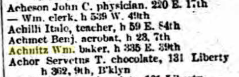 1898 Directory