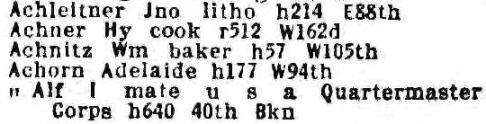 1916 Directory