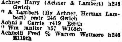 1922 Directory