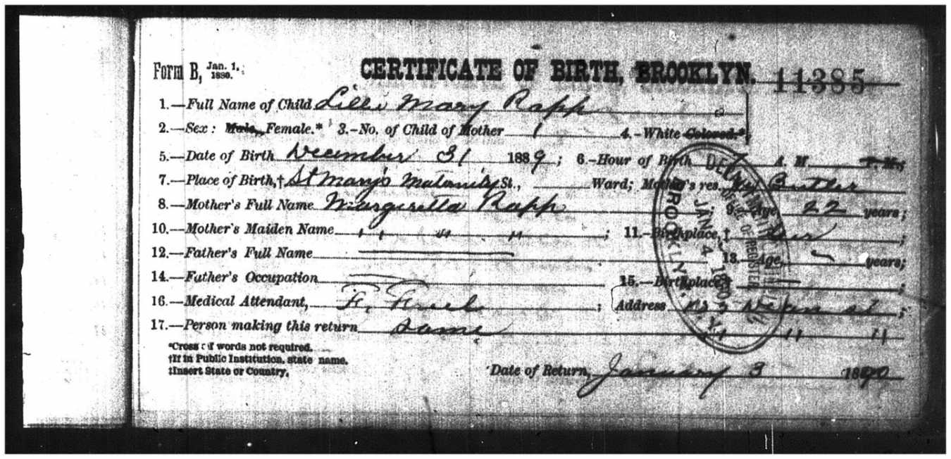 New york city ancestry dont get deflated birth certificate aiddatafo Images